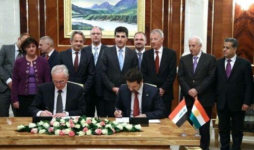 إفتتاح قنصلية عامة لجمهورية هنغاريا في اربيل  وتوقيع مذكرة تفاهم مشتركة مع كوردستان