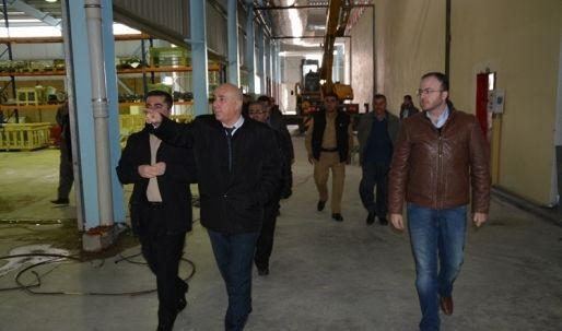 زيارة محافظ أربيل مصنع