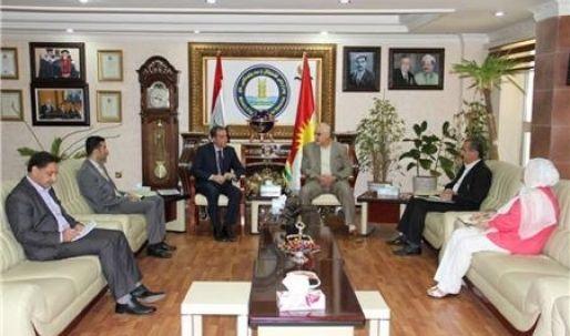 إنشاء معمل لتصنيع منتوجات الألبان في إقليم كوردستان