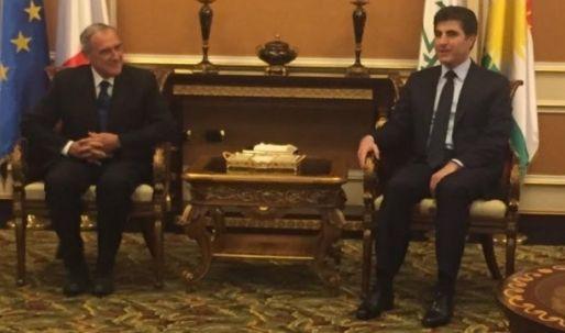 افتتاح القنصلية الإيطالية في أربيل