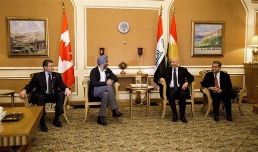 الجبوري وسنجاري يؤكّدان أهمية التنسيق بين المركز والإقليم