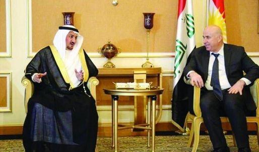 افتتاح القنصلية السعودية في اربيل