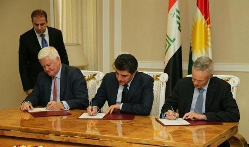 حكومة إقليم كوردستان توقّع عقداً دولياً لتدقيق عائدات ومصاريف القطاع النفطي