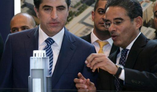 رئيس وزراء إقليم كوردستان- العراق يكشف النقاب عن مشروع
