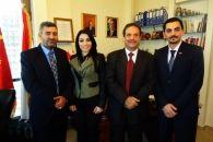 السفير اليمني يزور مجلس الأعمال اللبناني - الصيني