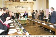 جامعة كورفنوس Corvinus University تمنح سموّ الأمير الوليد شهادة دكتوراه فخرية