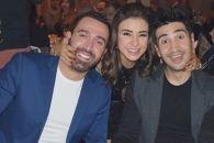 جمال سنان وماغي أبو غصن يحتفلان بعيد مروان حداد