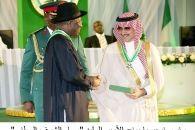 رئيس نيجيريا يمنح سموّ الأمير الوليد