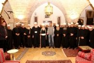ارسلان يستقبل رئيس الهيئة الروحية لطائفة الموحدين الدروز