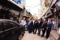 رئيس جمعية تجار برج حمود بول ايانيان يكرّم محمد شقير