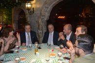 المنتج صادق الصبّاح يقيم حفل عشاء على شرف نقيب الصحافة اللبنانية