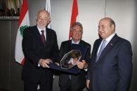 جمعية رجال الأعمال اللبنانية - الهولندية تكرّم السفير الهولندي