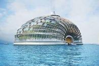 الفندق التابوتي أو الصدفي في الصين