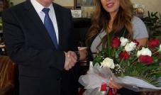 رئيسة التحرير رانيا ميال هنّأت محافظ اربيل بالسلامة