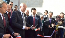 معالي الوزير فلاح مصطفى يجتمع بالمبعوث الخاص لرئيس الوزراء البريطاني