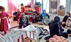 معاناة النازحين وأعداد المهجرين العراقيين في ازدياد