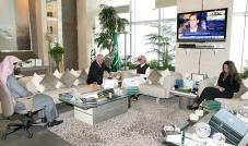 سموّ الأمير الوليد يستقبل سفير التشيك لدى السعودية