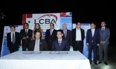 توقيع اتفاقية بين  LCBAو المجلس الصيني لتعزيز التجارة الدولية CCPIT
