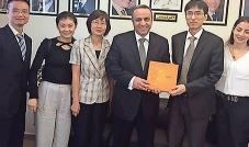 الأمين العام وسام فتوح يستقبل سفير دولة أرمينيا