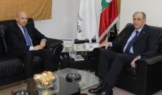 معالي الوزير جمال الجرّاح يستقبل السفير الإيطالي