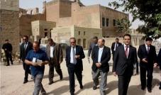 وزير التجارة والصناعة المصري في قلعة أربيل