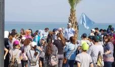 انطلاق الحملة الوطنية لتنظيف الشاطئ في بيروت