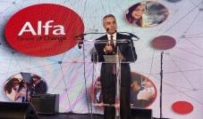 مدير عام شركة ألفا يعلن عن منتجاً جديداً للمنتشرين