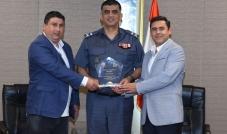 اللواء عماد عثمان والجائزة العالمية لمكافحة التقليد والتزوير
