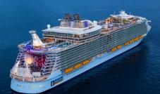 أكبر سفينة في العالم تُدشّن أولى رحلاتها