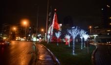 بلدية سن الفيل ترتدي حُلّة العيد مضيئةٌ كل شوارعها