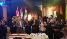 الجالية اللبنانية في كوردستان تحتفل بالاستقلال وتشعر بإنتمائها إلى لبنان