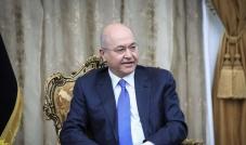 الرئيس العراقي برهم صالح: يجب تحديد هوية عناصر