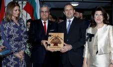 الرئيس البلغاري زار بلدية الحازمية وأثنى على الجهود التي بذلها جان الأسمر لتنمية بلدته
