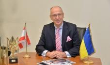 سفير أوكرانيا في لبنان إيهور أوستاش:نعمل على تفعيل الاتفاقيات الاقتصادية لتحسين الميزان التجاري بين البلدين