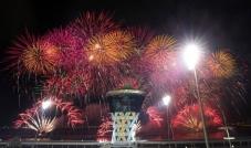 جزيرة ياس تستعد للإحتفال برأس السنة الجديدة