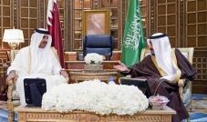 فتح الحدود البرية والبحرية بين السعودية وقطر
