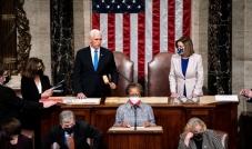 الكونغرس يُصادق رسمياً على فوز بايدن