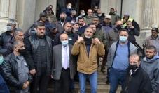 إعتصام لعمال بلدية طرابلس إحتجاجاً على عدم إنصافهم وتردي الأوضاع المعيشية